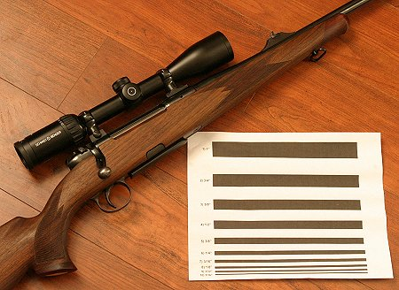 John standardizes testing as much as possible to allow for meaningful optical comparisons among riflescopes.