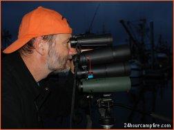 24hour's Art Peck stacks Big Eyes head-to-head well into Kodiak Island twilight.