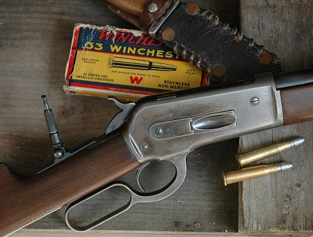 This vintage Browning-designed Winchester 86 is nimble, quick to aim, deadly at modest distances.