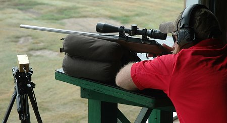 Firing from a bench doesn't prepare you for shots afield.  After zeroing, switch to hunting positions!