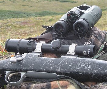 Binoculars And Riflescopes Are Indispensable in Most Big Game Hunting, But Are Designed For Very Different Purposes.