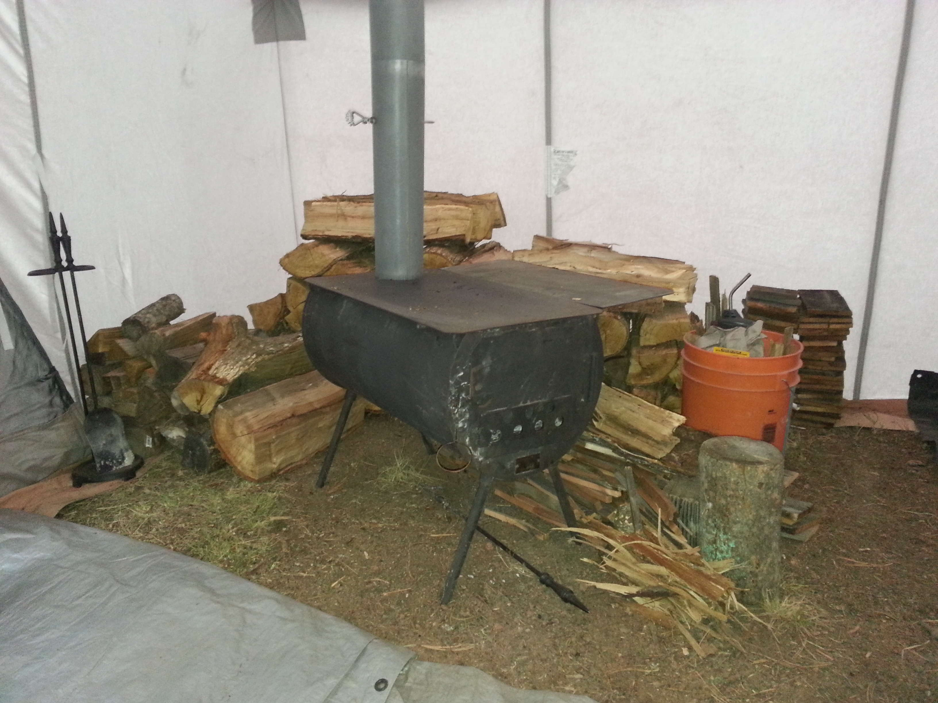 [Linked Image] & Wall tent stove? - 24hourcampfire