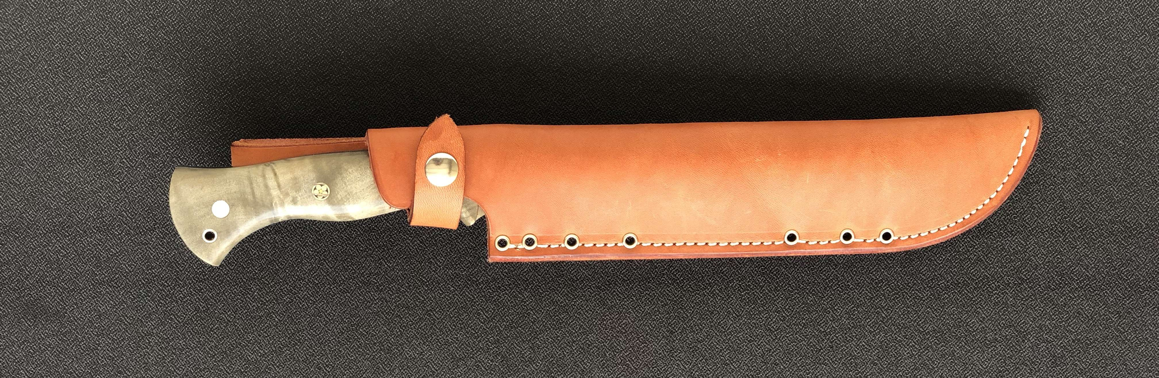 Bark River Grizzly Bowie Knife - 24hourcampfire
