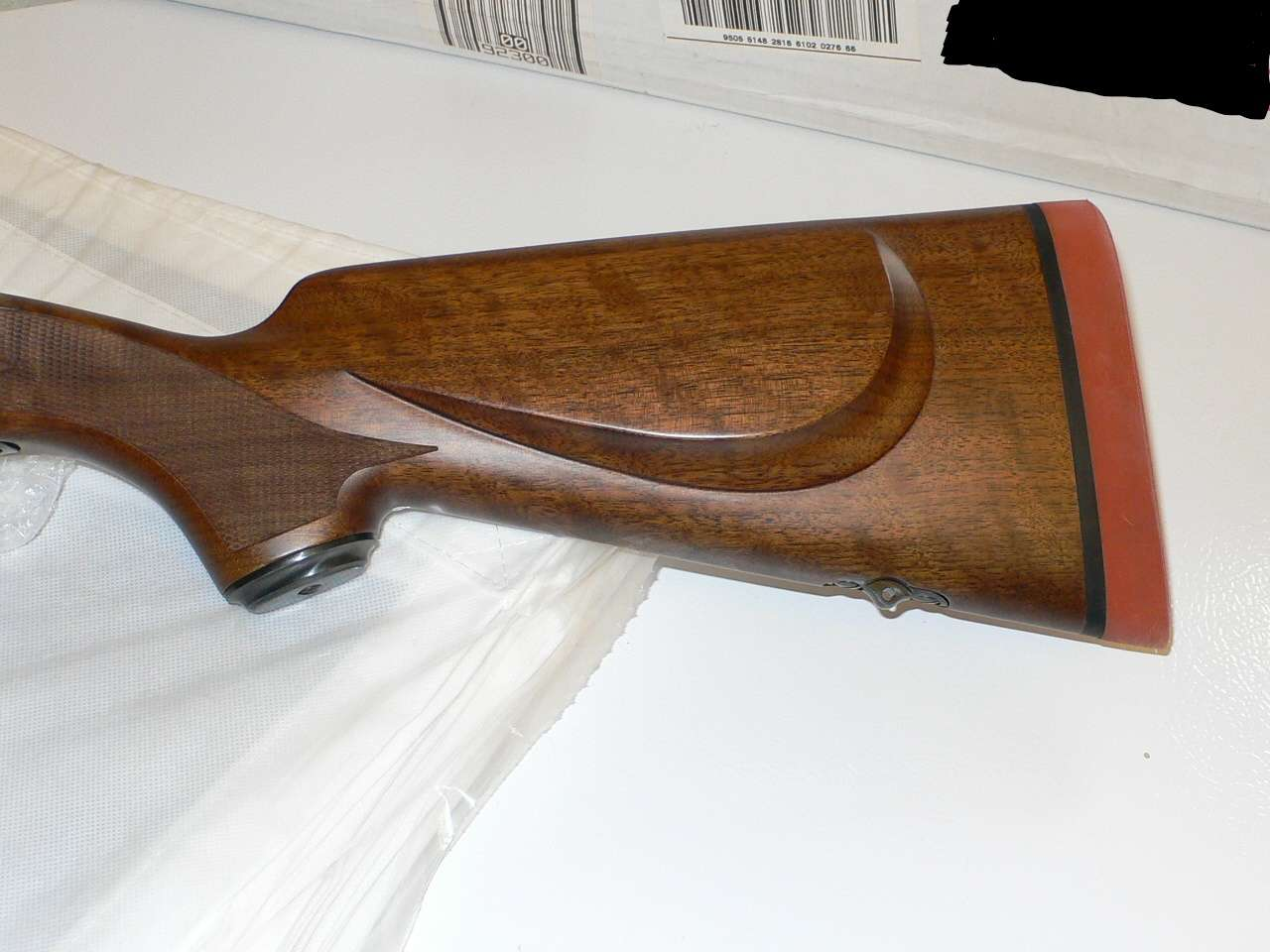 New Custom Winchester La Featherweight Stock And Williams