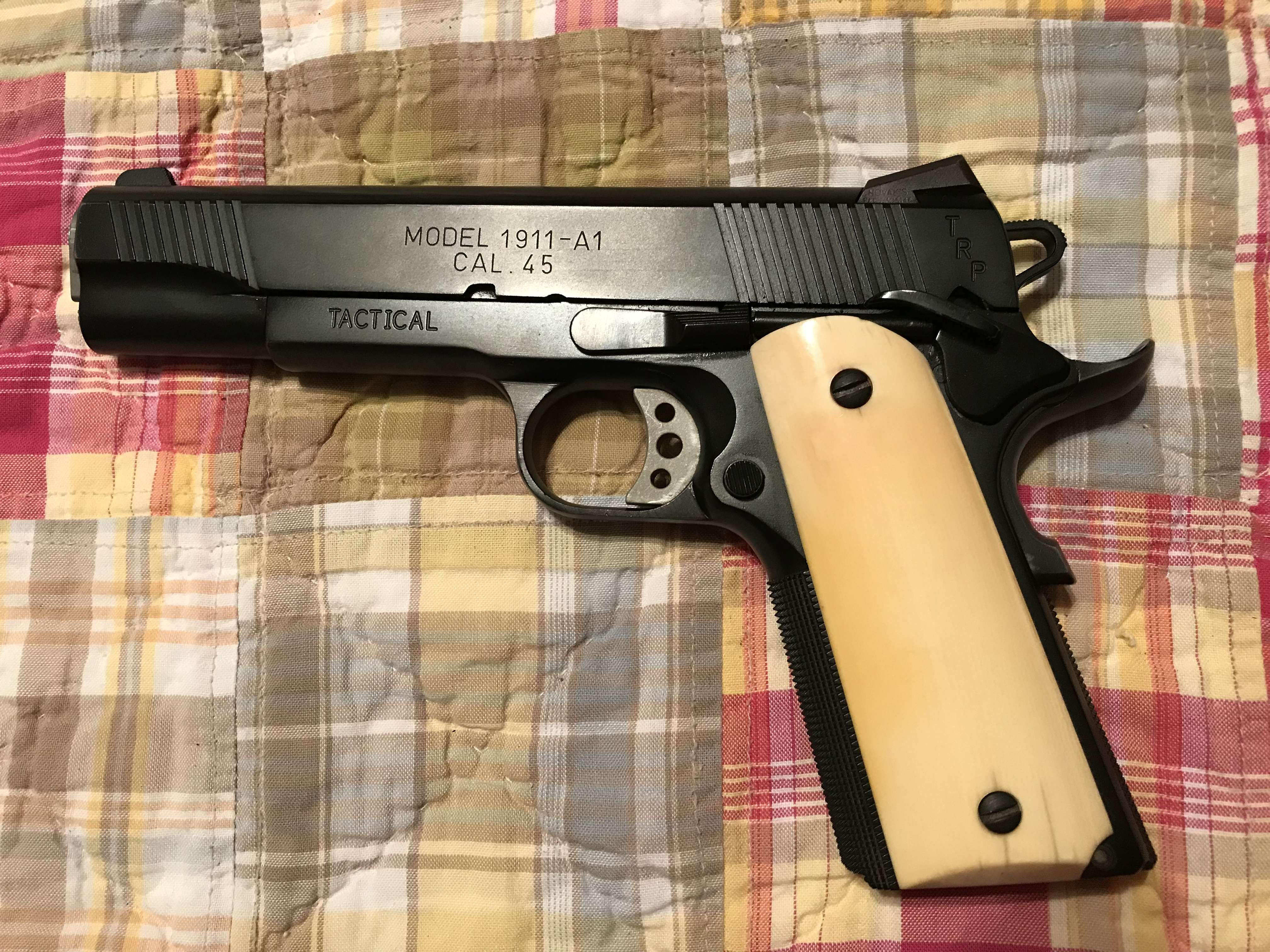 exotic grips for a 1911 - 24hourcampfire