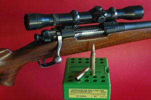 Re-chambered to .30 Gibbs, this Springfield 03A3 can deliver the ballistic muscle of the .300 H&H.